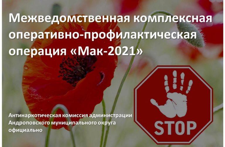 Read more about the article Межведомственная комплексная оперативно-профилактическая операция «Мак-2021»